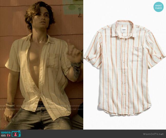 Katin Alan Shirt worn by John B (Chase Stokes) on Outer Banks