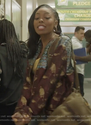 Kia's embroidered metallic bomber jacket on All American
