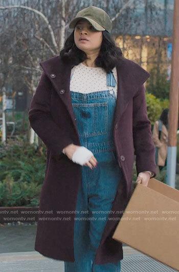 Mel's denim overalls on Charmed