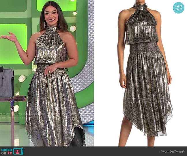 Ramy Brook Bella Dress worn by Manuela Arbeláez  on The Price is Right