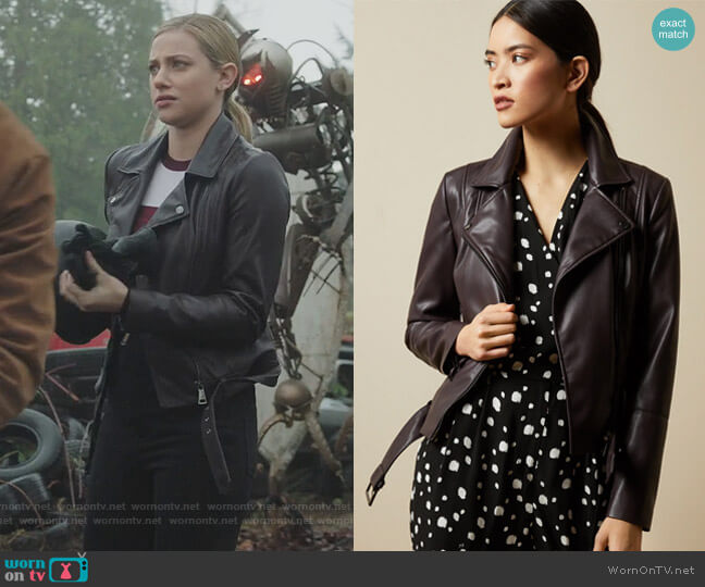Pipiy Jacket by Ted Baker worn by Betty Cooper (Lili Reinhart) on Riverdale
