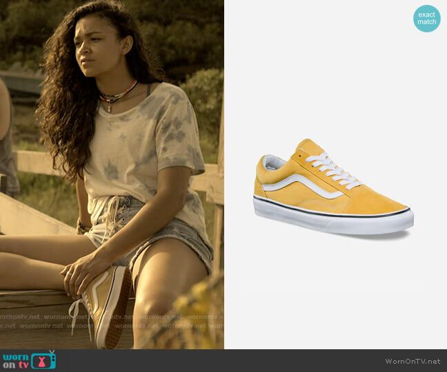 Vans Old Skool Sneakers worn by Kiara Carrera (Madison Bailey) on Outer Banks