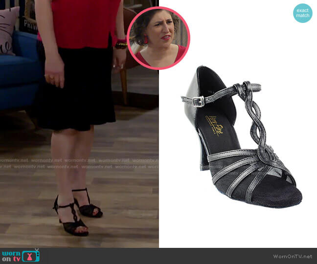 Very Fine 1692 Dance Shoes worn by Kat Silver (Mayim Bialik) on Call Me Kat