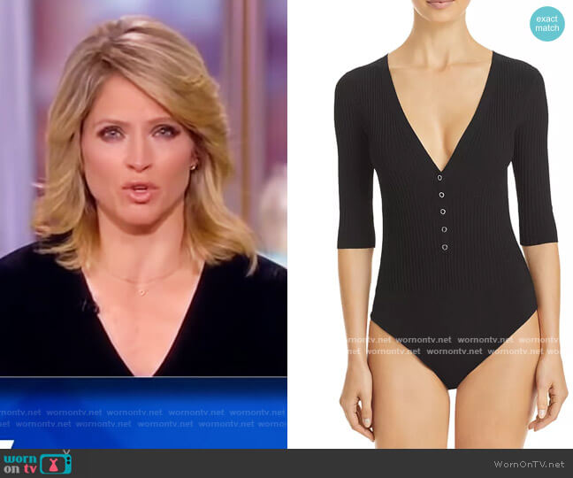 Toni Bodysuit by A.L.C. worn by Sara Haines  on The View