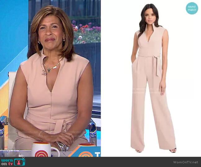 Brittan Jumpsuit by Black Halo worn by Hoda Kotb  on Today