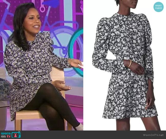 Celyn Dress by Joie worn by Sheinelle Jones  on Today