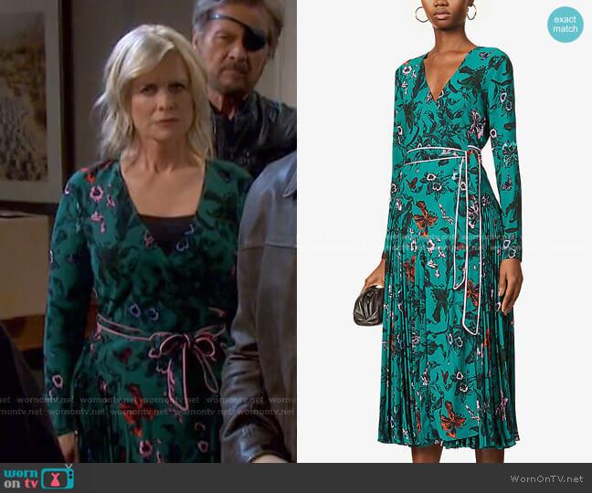 Amiya Maxi Dress by Diane von Furstenberg worn by Kayla Brady (Mary Beth Evans) on Days of our Lives