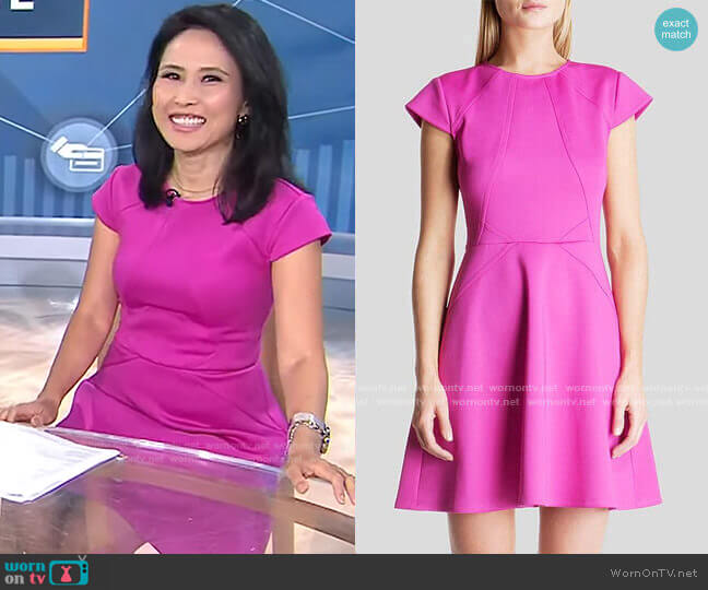 worn by Vicky Nguyen on Today worn by Vicky Nguyen  on Today