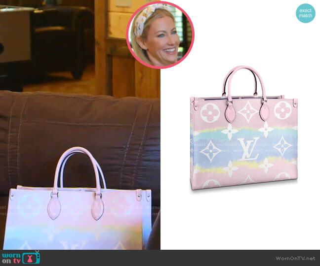 Escale OnTheGo GM Tote by Louis Vuitton worn by Stephanie Hollman  on The Real Housewives of Dallas