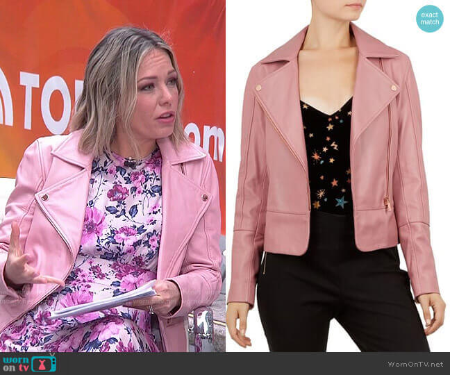 Lizia Jacket by Ted Baker worn by Dylan Dreyer  on Today