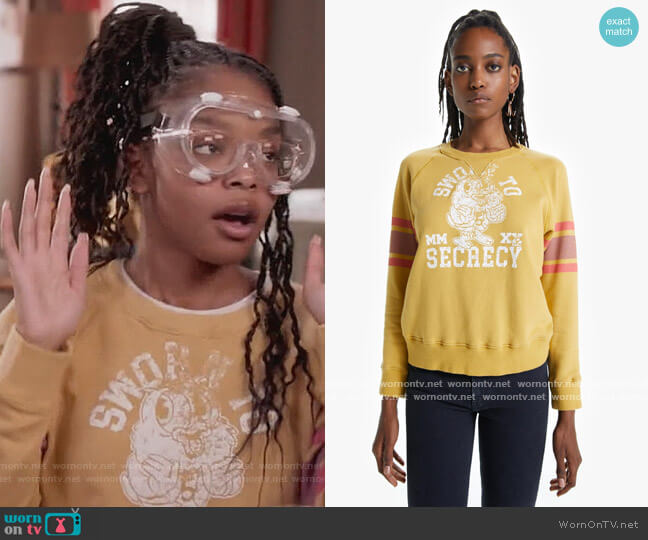 Sworn To Secrecy by Mother worn by Diane Johnson (Marsai Martin) on Blackish