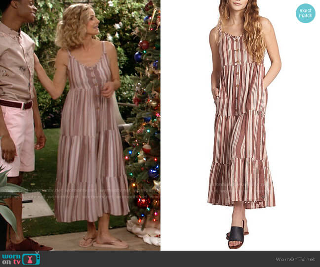 Roxy Breeze On By Dress worn by Jean Raines (Kyra Sedgwick) on Call Your Mother