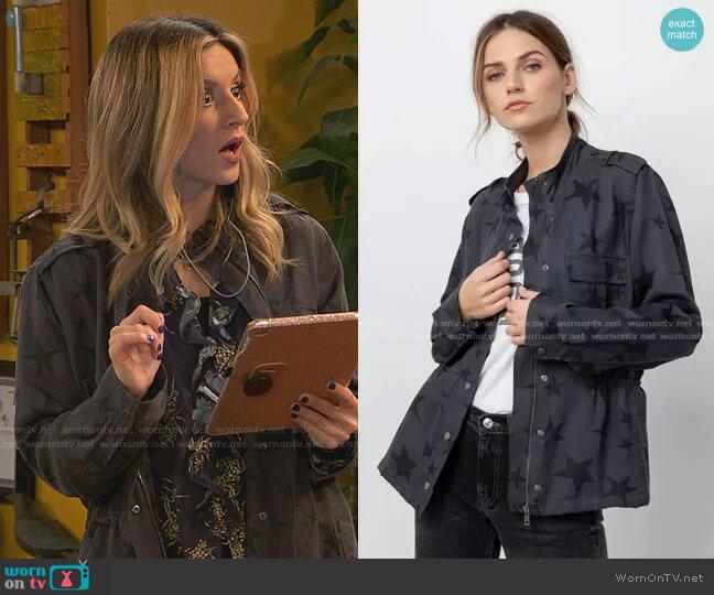 Trey Utility Jacket by Rails worn by Chelsea Grayson (Anneliese van der Pol) on Ravens Home
