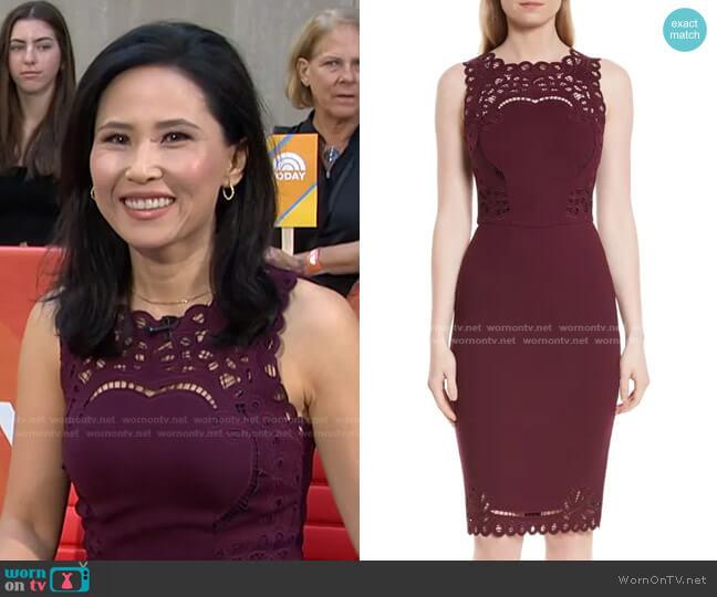 Verita Dress by Ted Baker worn by Vicky Nguyen  on Today