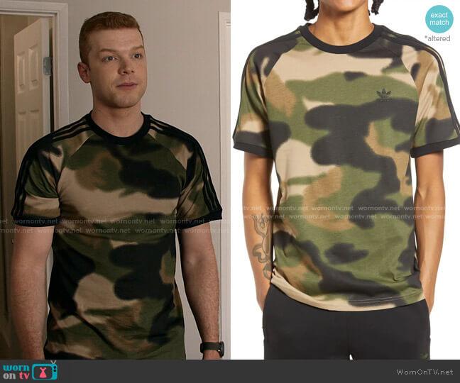 Camo 3-Stripes T-Shirt by Adidas