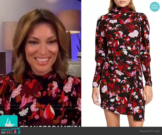 Marcel Dress by A.L.C. worn by Kit Hoover  on Access Hollywood
