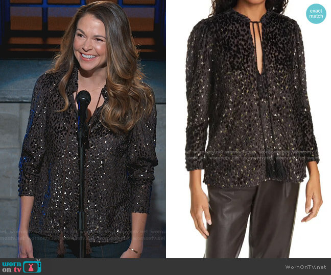 Ophelia Top by A.L.C. worn by Liza Miller (Sutton Foster) on Younger