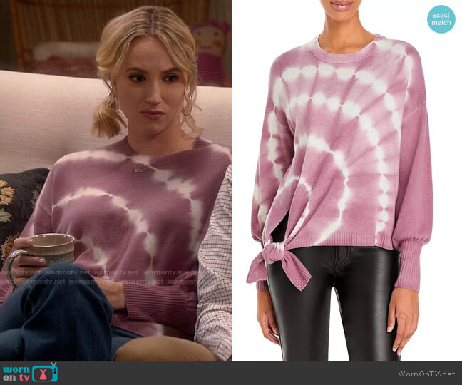 Cinq a Sept Clerisa Sweater worn by Mandy Baxter (Molly McCook) on Last Man Standing