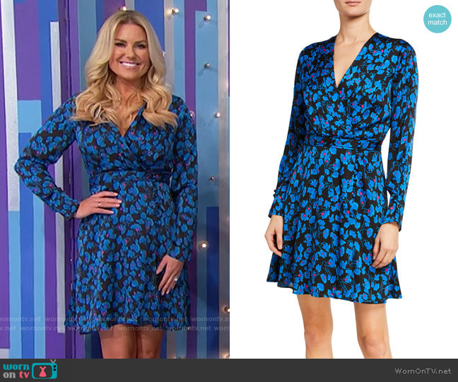 Equipment Collie Dress worn by Rachel Reynolds  on The Price is Right