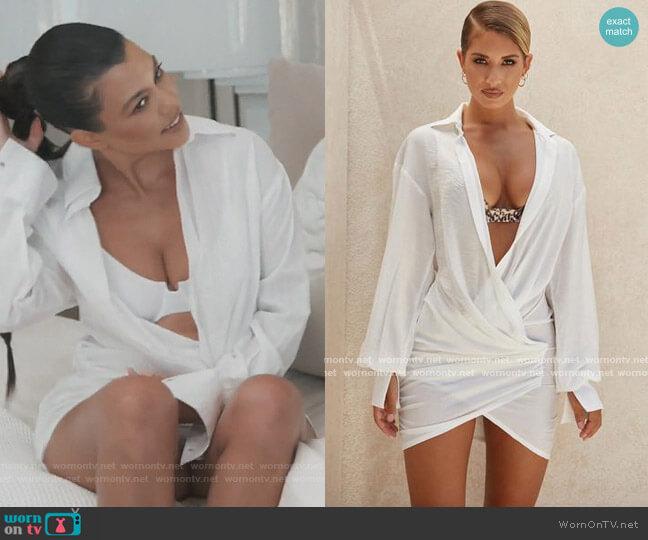 Carys Dress by House of CB worn by Kourtney Kardashian  on Keeping Up with the Kardashians