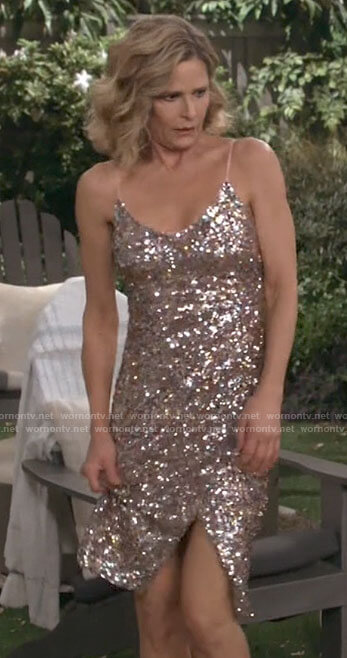 Jean's sequin dress on Call Your Mother