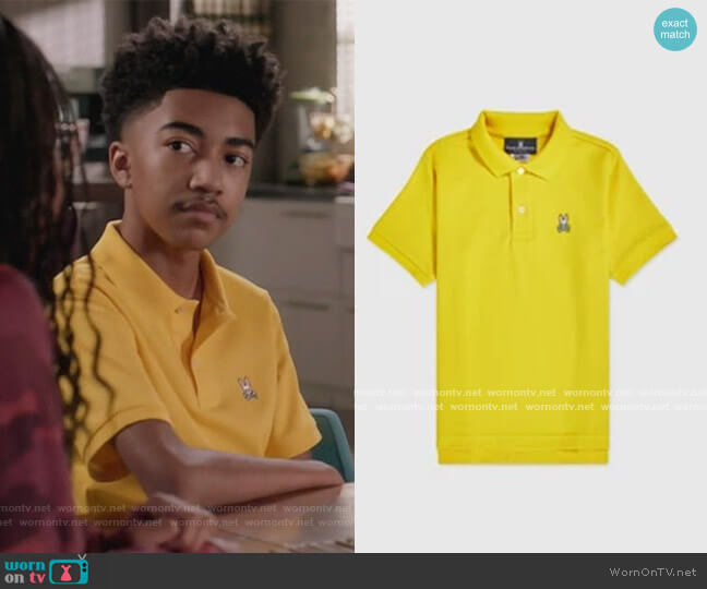 Classic Polo by Psycho Bunny worn by Jack Johnson (Miles Brown) on Blackish