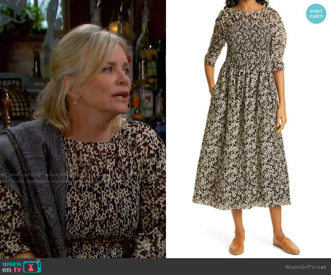 Osaka Dress by Rebecca Taylor worn by Kayla Brady (Mary Beth Evans) on Days of our Lives