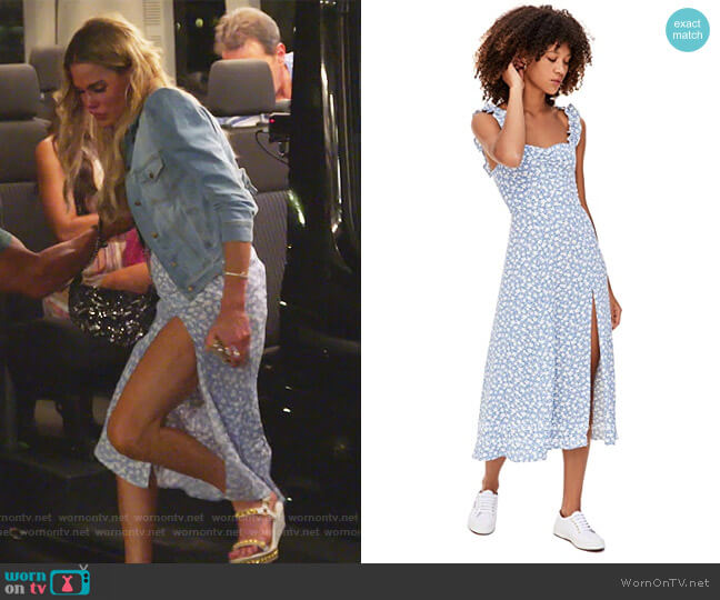 Ciara Dress by Reformation worn by Jackie Goldschneider  on The Real Housewives of New Jersey