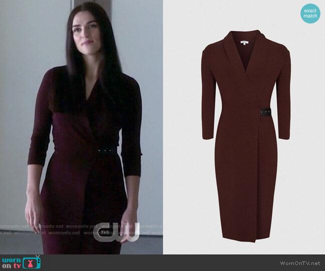 Reiss Luisa Berry Dress worn by Lena Luthor (Katie McGrath) on Supergirl