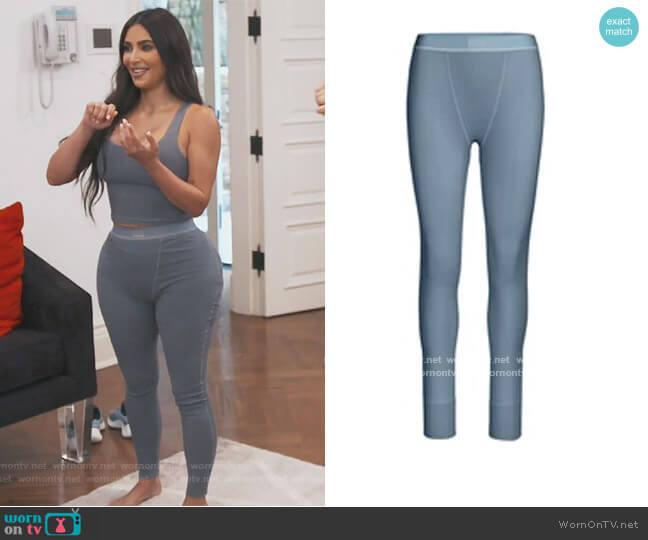 Cotton Rib Leggings by Skims worn by Kim Kardashian  on Keeping Up with the Kardashians
