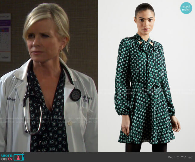 Dolley Dress by Ted Baker worn by Kayla Brady (Mary Beth Evans) on Days of our Lives