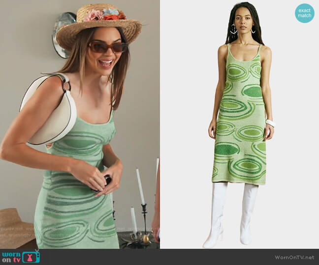 Hockney Dress by The Lobby worn by Kendall Jenner  on Keeping Up with the Kardashians