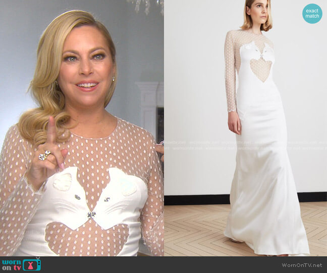 Sprint 2020 Collection by Alexis Mabille worn by Sutton Stracke  on The Real Housewives of Beverly Hills