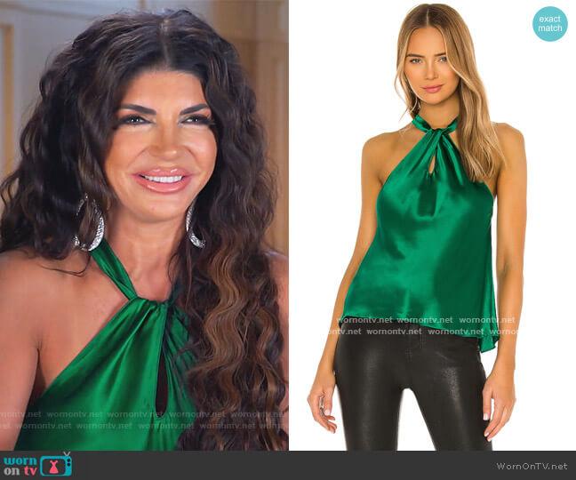 Wanda Top by Amanda Uprichard worn by Teresa Giudice  on The Real Housewives of New Jersey