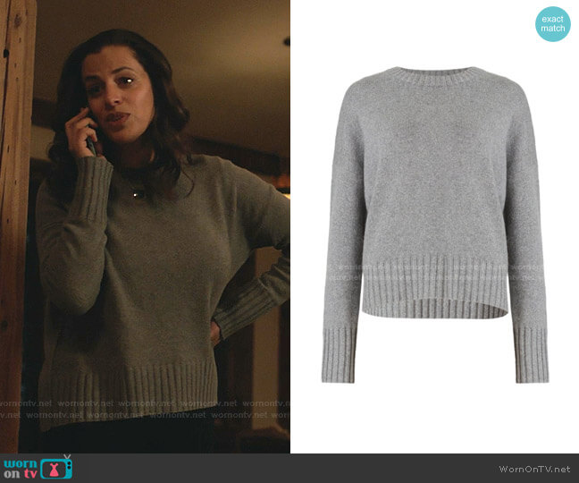 Arun Sweater by All Saints worn by Grace Stone (Athena Karkanis) on Manifest