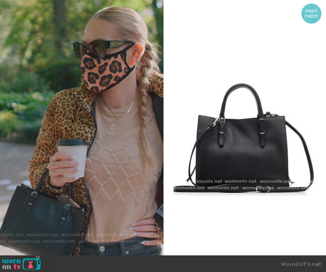 Balenciaga Papier Mini A4 Zip Around Bag by Balenciaga worn by Leah McSweeney  on The Real Housewives of New York City