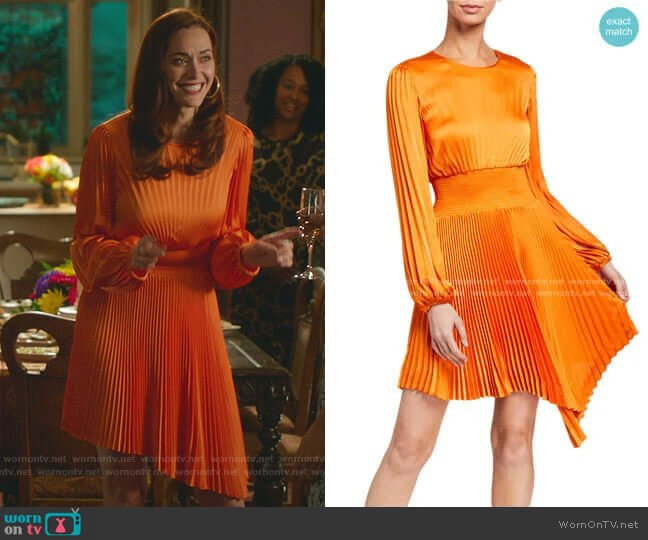Behati Dress by A.L.C. worn by Abigail Pershing (Sarah Power) on Good Witch