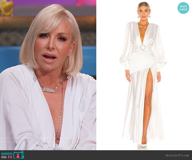 Carmen Bridal Gown by Bronx and Banco worn by Margaret Josephs  on The Real Housewives of New Jersey
