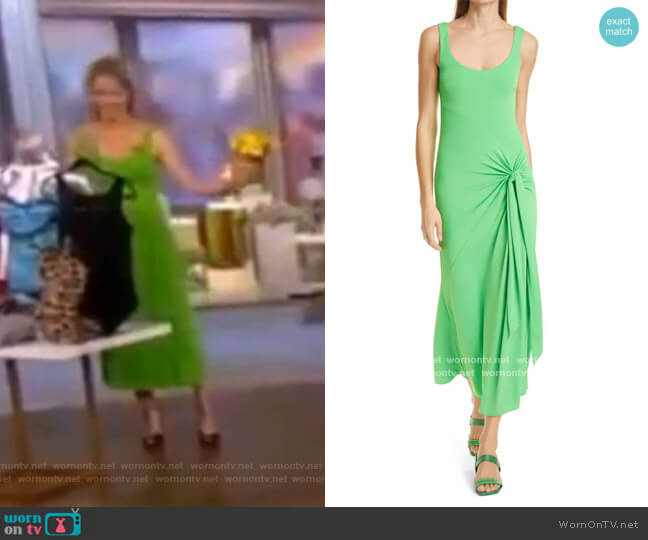 Vera Dress by Cinq a Sept worn by Sara Haines  on The View