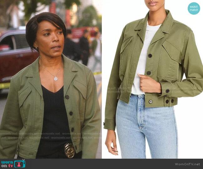 Gwen Field Jacket by Derek Lam 10 Crosby worn by Athena Grant (Angela Bassett) on 9-1-1
