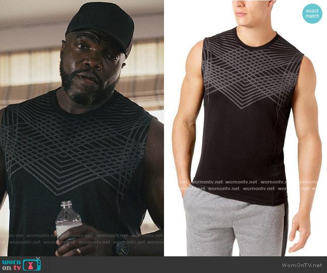 Jacquard Basic T-Shirt by Ideology worn by Reno Wilson on Good Girls
