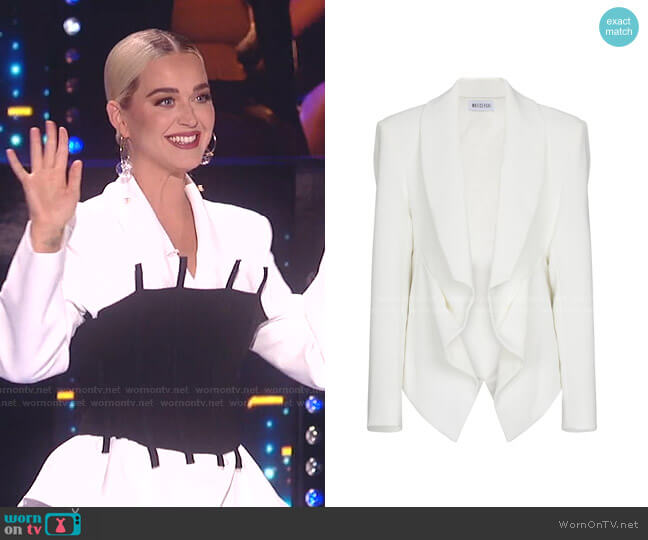 Veneration Cady Jacket by Maticevski worn by Katy Perry  on American Idol