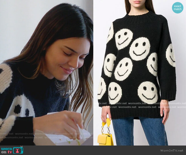 The Redux sweater by Marc Jacobs worn by Kendall Jenner  on Keeping Up with the Kardashians