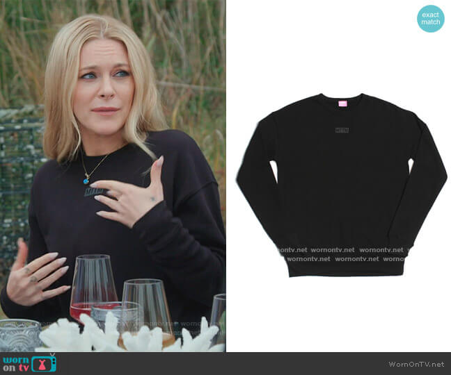 MTTM crewneck Sweatshirt by Married to the Mob worn by Leah McSweeney  on The Real Housewives of New York City