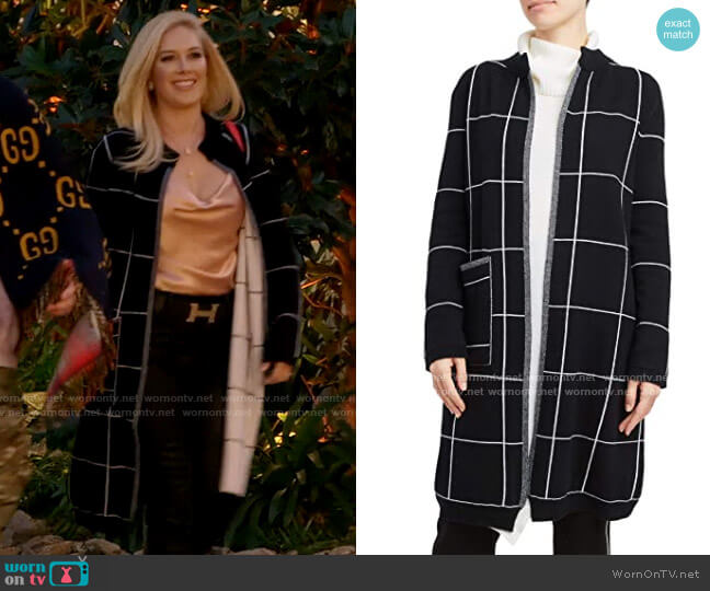 Inhabit Cashmere Blend Reversible Coat worn by Heidi Montag  on The Hills New Beginnings