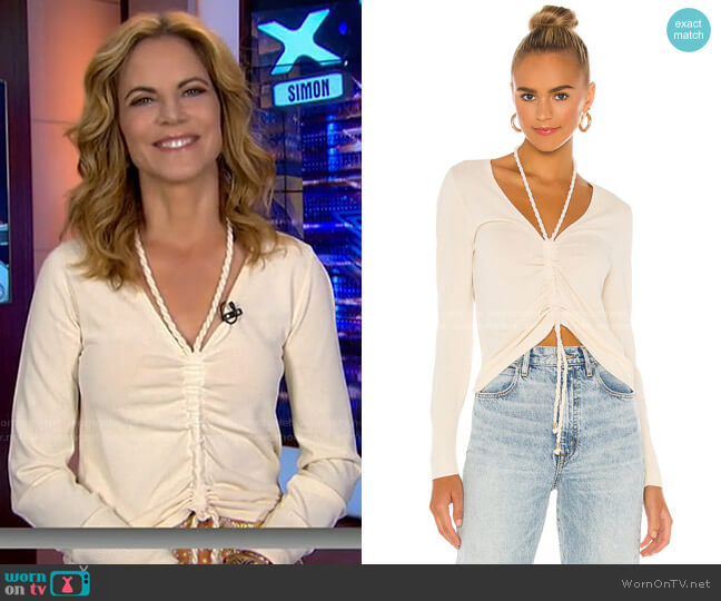 Darla Top by Nicholas worn by Natalie Morales  on Today