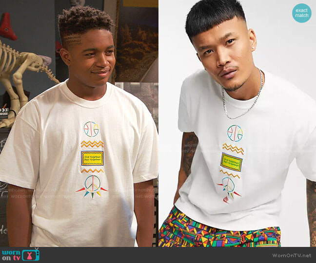Re-Issue Urban Jungle T-Shirt by Nike worn by Booker Baxter (Issac Ryan Brown) on Ravens Home