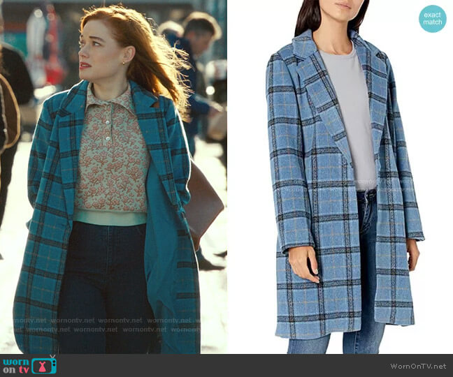 Robyn Coat by Cupcakes and Cashmere worn by Zoey Clarke (Jane Levy) on Zoeys Extraordinary Playlist
