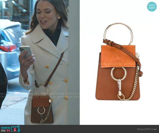 Small Faye Bracelet Bag by Chloe worn by Liza Miller (Sutton Foster) on Younger