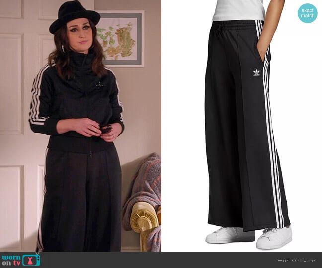 Adidas Three Stripes Relaxed Pants worn by Dawn Solano (Sara Bareilles) on Girls5eva